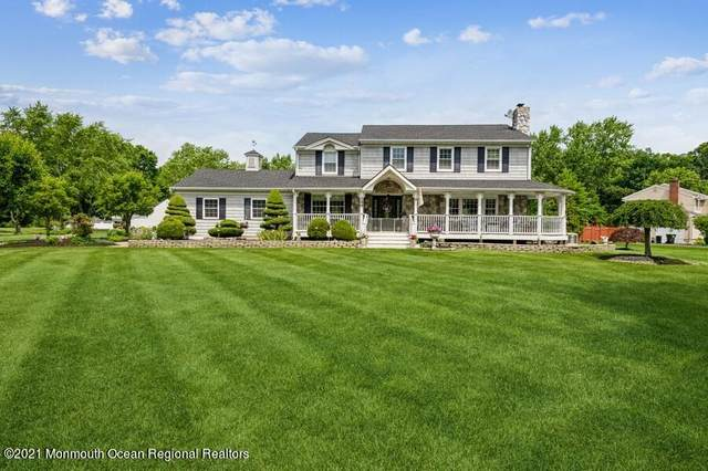 144 Lancaster Road, Freehold, NJ 07728 (MLS #22118468) :: The CG Group | RE/MAX Revolution