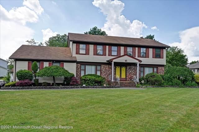 42 Princeton Drive, Manalapan, NJ 07726 (MLS #22118573) :: The Sikora Group