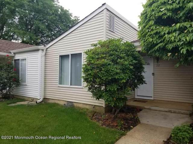 22 Woodmere Court, Freehold, NJ 07728 (MLS #22119081) :: The MEEHAN Group of RE/MAX New Beginnings Realty