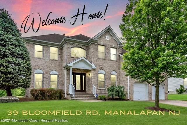 39 Bloomfield Road, Manalapan, NJ 07726 (MLS #22119707) :: Team Pagano