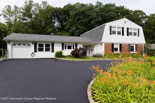 61 Lakeridge Drive, Matawan, NJ 07747 (MLS #22120380) :: The Sikora Group