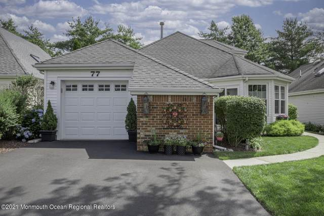 77 Hazel Drive, Freehold, NJ 07728 (MLS #22122097) :: The MEEHAN Group of RE/MAX New Beginnings Realty
