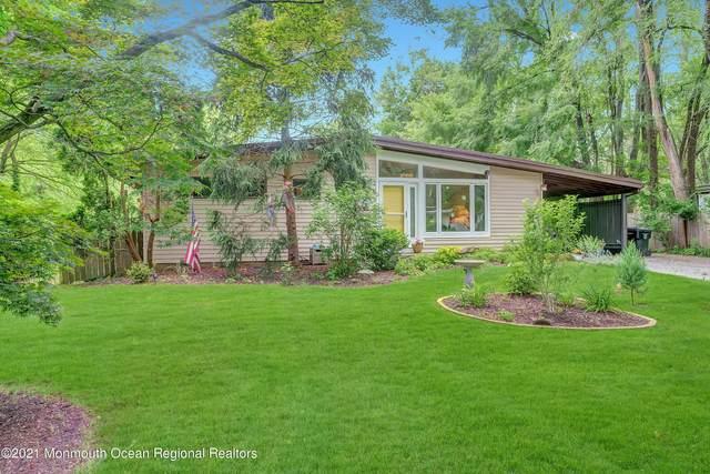 102 Parkview Terrace, Lincroft, NJ 07738 (MLS #22122101) :: William Hagan Group