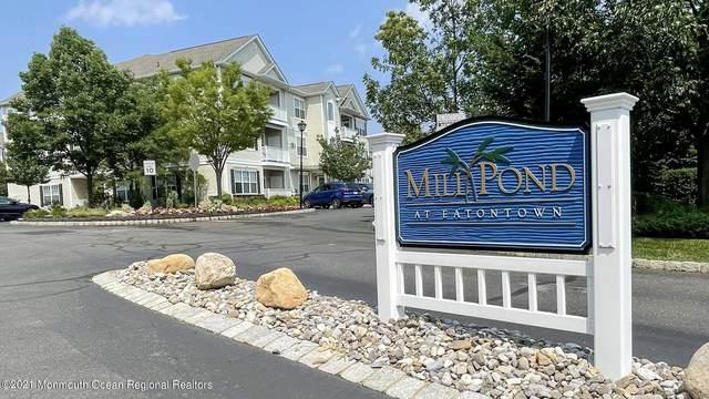 631 Mill Pond Way, Eatontown, NJ 07724 (MLS #22122260) :: The CG Group | RE/MAX Revolution