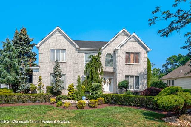 57 Stony Hill Drive, Morganville, NJ 07751 (MLS #22122396) :: The MEEHAN Group of RE/MAX New Beginnings Realty