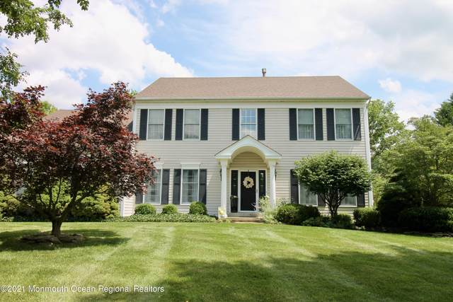 230 Round Hill Drive, Freehold, NJ 07728 (MLS #22122578) :: The MEEHAN Group of RE/MAX New Beginnings Realty