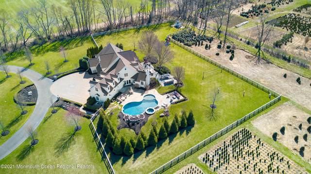 980 Windsor Road, Millstone, NJ 08535 (MLS #22123494) :: The Dekanski Home Selling Team