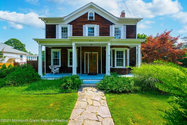 316 Monmouth Road, West Long Branch, NJ 07764 (MLS #22123682) :: The MEEHAN Group of RE/MAX New Beginnings Realty