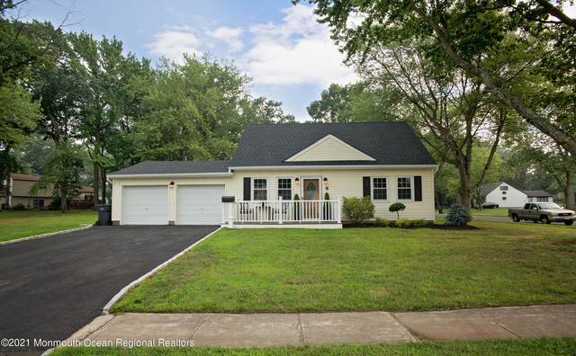 8 Garrison Drive, Hazlet, NJ 07730 (MLS #22124097) :: The Sikora Group