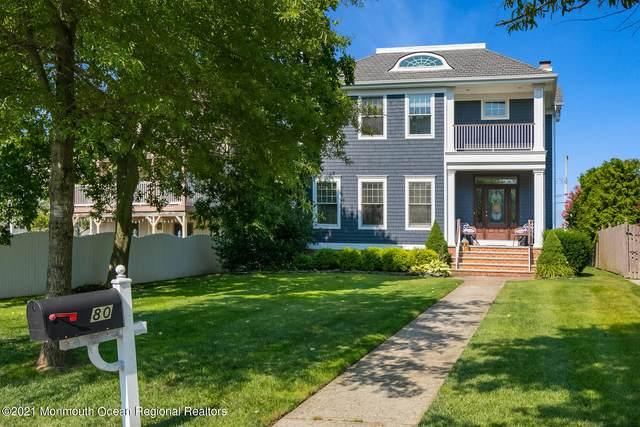 80 S Ward Avenue, Rumson, NJ 07760 (MLS #22124495) :: William Hagan Group