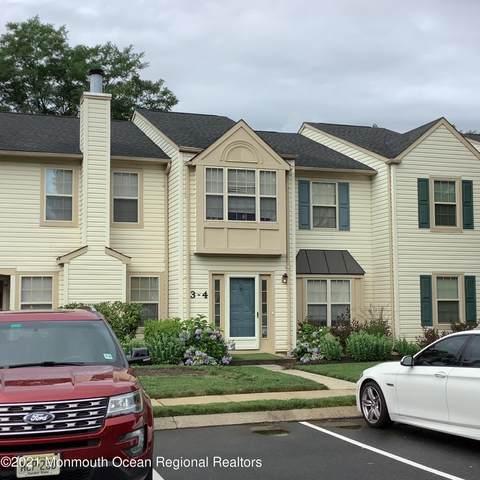 3 Whistler Drive #4, Freehold, NJ 07728 (MLS #22124582) :: The Sikora Group
