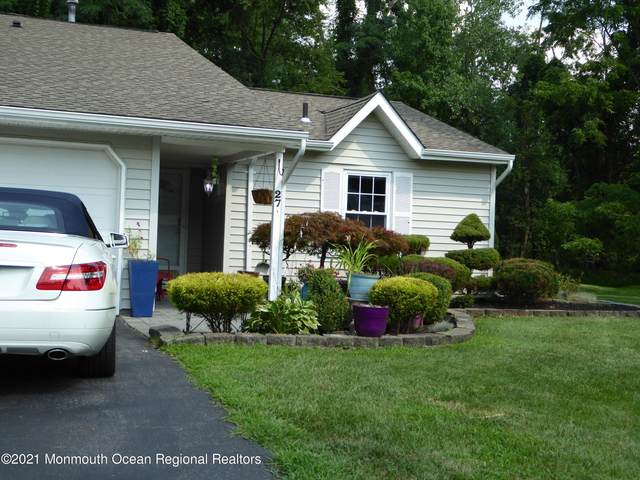 27 Breakwater Square, Freehold, NJ 07728 (MLS #22124658) :: The CG Group | RE/MAX Revolution
