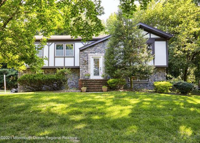 164 Whispering Pines Drive, Lincroft, NJ 07738 (MLS #22124751) :: The MEEHAN Group of RE/MAX New Beginnings Realty