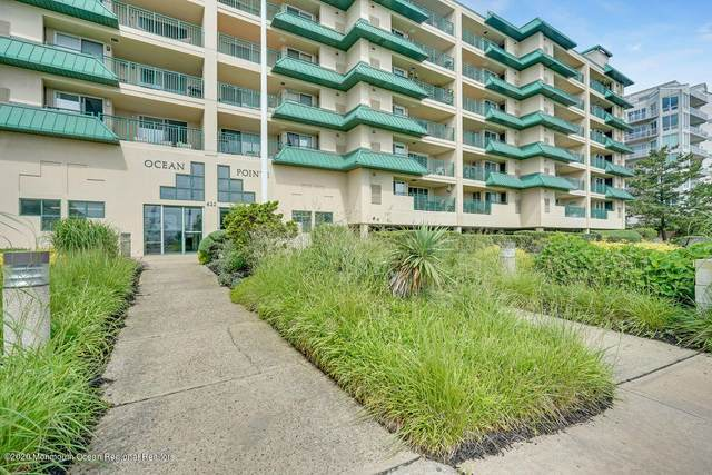 422 Ocean Boulevard N 2B, Long Branch, NJ 07740 (MLS #22124854) :: PORTERPLUS REALTY