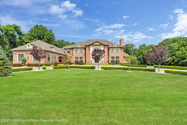 5 Embry Farm Road, Marlboro, NJ 07746 (MLS #22125150) :: William Hagan Group