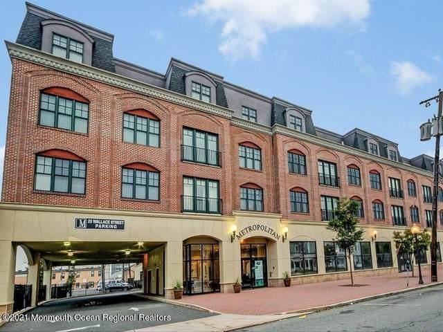 23 Wallace Street Ph 1, Red Bank, NJ 07701 (MLS #22128444) :: William Hagan Group