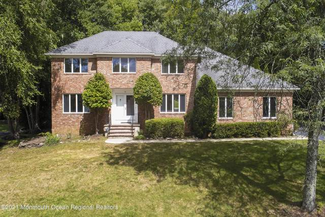 10 Knob Hill Road, Morganville, NJ 07751 (MLS #22129535) :: William Hagan Group