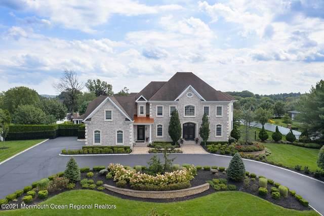 8 Stayman Court, Manalapan, NJ 07726 (#22129981) :: Rowack Real Estate Team