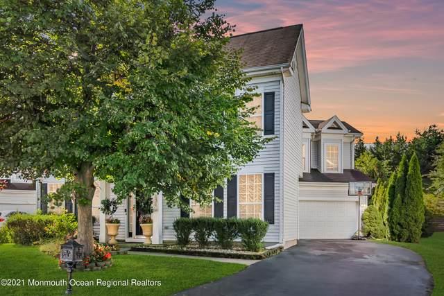 136 Nathan Drive, Morganville, NJ 07751 (MLS #22130493) :: William Hagan Group