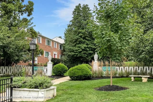 293 Spring Street 13D, Red Bank, NJ 07701 (MLS #22130990) :: William Hagan Group