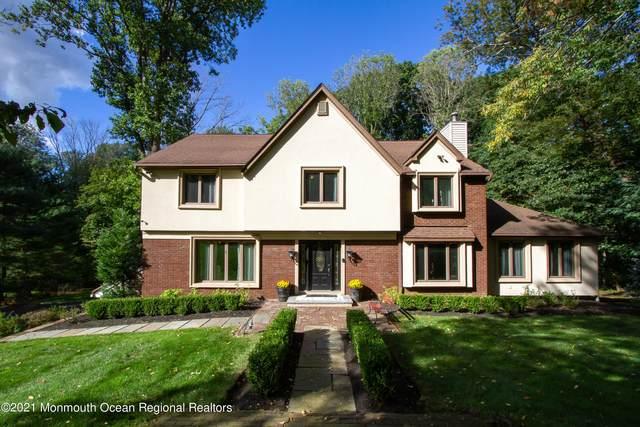 154 Willow Grove Drive, Lincroft, NJ 07738 (MLS #22131544) :: Laurie Savino Realtor
