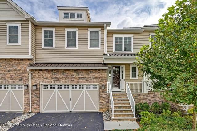 3 Foulks Terrace #1902, Lincroft, NJ 07738 (MLS #22131634) :: Laurie Savino Realtor