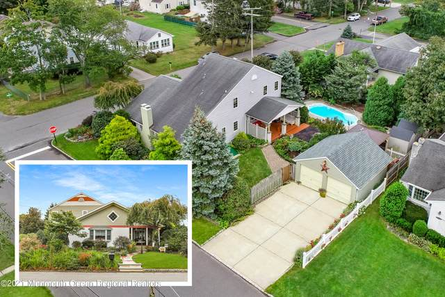 1701 Voorhees Avenue, Belmar, NJ 07719 (MLS #22132132) :: The Sikora Group