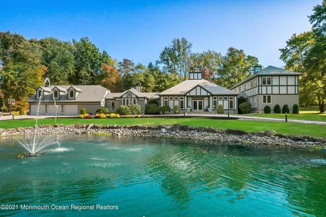 1 Perrine Circle, Perrineville, NJ 08535 (MLS #22134046) :: The Dekanski Home Selling Team