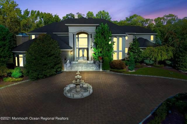 7 Bordens Brook Way, Holmdel, NJ 07733 (MLS #22134199) :: The Dekanski Home Selling Team