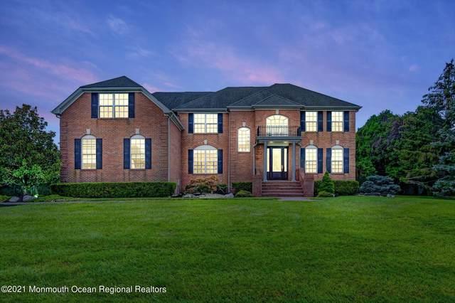 45 Stevenson Drive, Marlboro, NJ 07746 (MLS #22134663) :: William Hagan Group