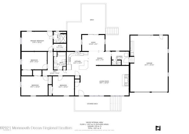 2306 6th Avenue, Toms River, NJ 08753 (MLS #22134695) :: Kay Platinum Real Estate Group