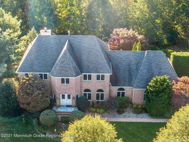 5 Hixon Terrace, Holmdel, NJ 07733 (MLS #22134716) :: The Dekanski Home Selling Team