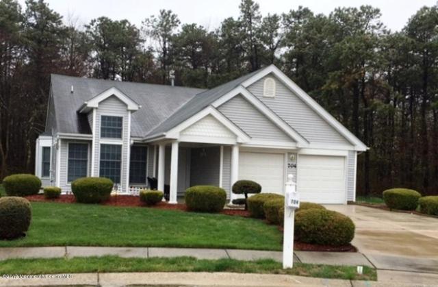 704 Flint Court, Manchester, NJ 08759 (MLS #21716115) :: The Dekanski Home Selling Team