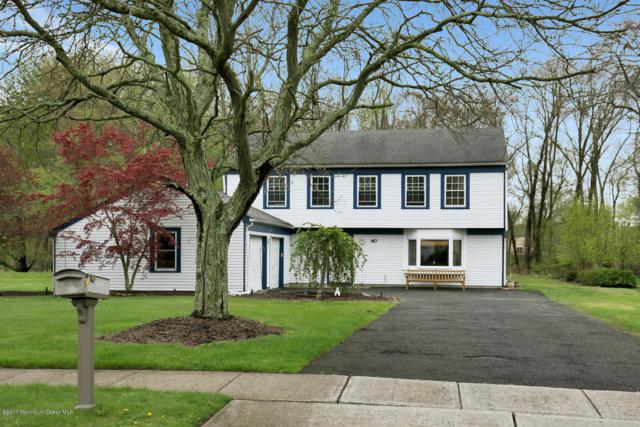 60 Devon Drive, Manalapan, NJ 07726 (MLS #21716233) :: The Dekanski Home Selling Team