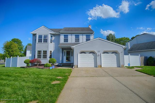 27 Jennifer Drive, Howell, NJ 07731 (MLS #21721479) :: The Dekanski Home Selling Team