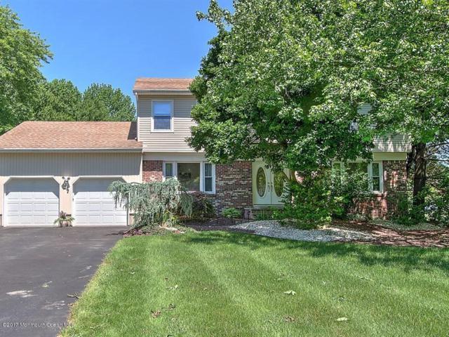 27 Cooperhawk Drive, Manalapan, NJ 07726 (MLS #21723976) :: The Dekanski Home Selling Team
