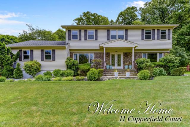 11 Copperfield Court, Ocean Twp, NJ 07712 (MLS #21823407) :: The Dekanski Home Selling Team