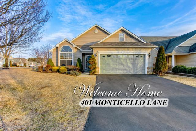 401 Monticello Lane, Lakewood, NJ 08701 (MLS #21907700) :: The MEEHAN Group of RE/MAX New Beginnings Realty