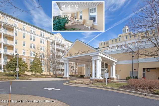700 Ocean Avenue #419, Spring Lake, NJ 07762 (MLS #22025718) :: The Ventre Team