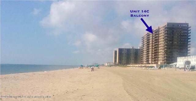 55 Ocean Avenue 14C, Monmouth Beach, NJ 07750 (MLS #22029215) :: The Ventre Team