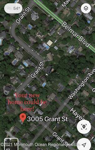 3005 Grant Street, Wall, NJ 07719 (MLS #22110844) :: The Ventre Team