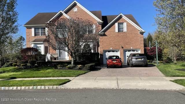 1 Monkton Road, Manalapan, NJ 07726 (MLS #22112259) :: William Hagan Group