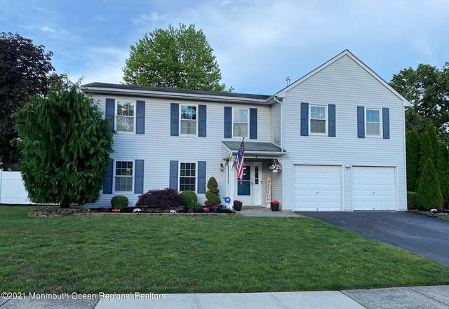 4 Stratton Drive, Howell, NJ 07731 (MLS #22117881) :: The MEEHAN Group of RE/MAX New Beginnings Realty