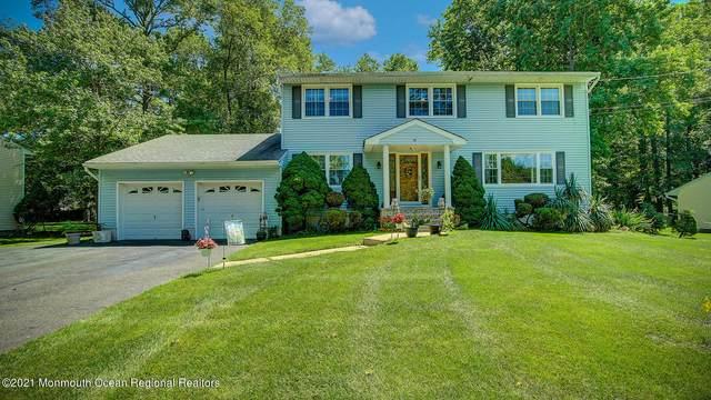 19 Birmingham Drive, Manalapan, NJ 07726 (MLS #22119337) :: The Dekanski Home Selling Team