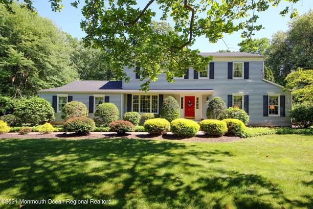 67 Chestnut Ridge Road, Holmdel, NJ 07733 (MLS #22119642) :: The Sikora Group