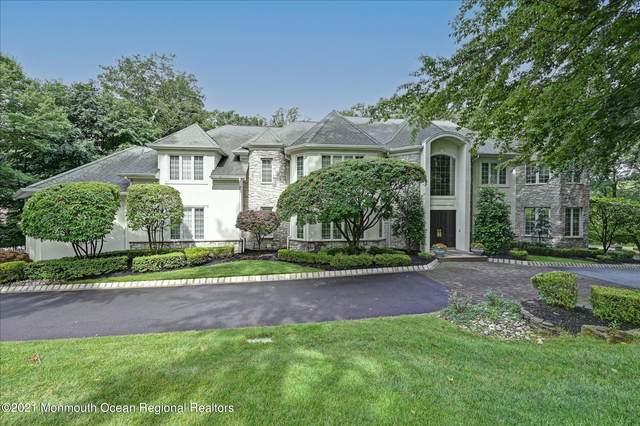 8 Round Hill, Holmdel, NJ 07733 (#22122265) :: Rowack Real Estate Team