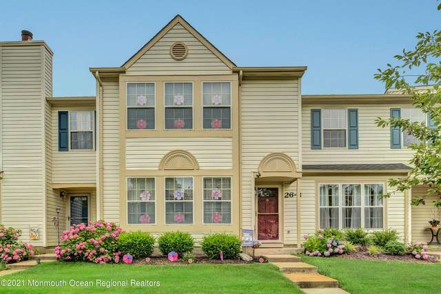 26 Copley Court #3, Freehold, NJ 07728 (MLS #22122880) :: The Sikora Group