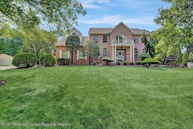 19 Candeub Court, Manalapan, NJ 07726 (MLS #22124124) :: The MEEHAN Group of RE/MAX New Beginnings Realty