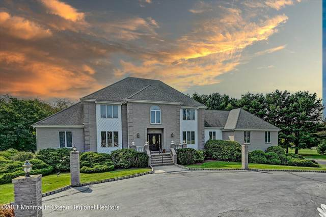 220 Thompson Grove Road, Manalapan, NJ 07726 (MLS #22130246) :: Laurie Savino Realtor