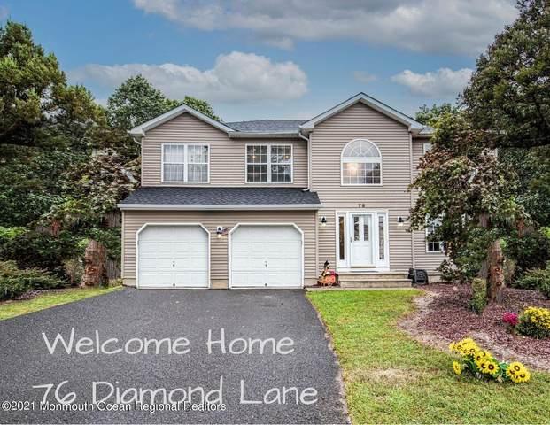 76 Diamond Lane, Howell, NJ 07731 (#22131437) :: Rowack Real Estate Team